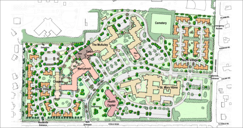 Hartford Hospital Campus Map.Mercy Community Health Campus West Hartford Ct Healthcare